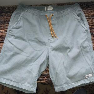 Green Khaki Shorts